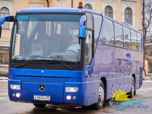 На автобусе к морю в Крым (проезд без проживания)