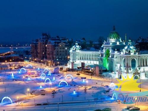 Тур из Вологды в новогодние каникулы «Казанские каникулы»