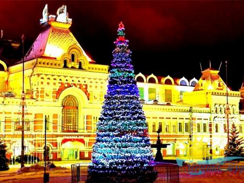 Тур из Вологды в новогодние каникулы «Нижний Новгород: новогодняя столица 2022»