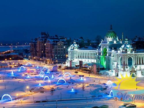 Автобусный тур из Вологды «Новый год в трех королевствах: Казань, Мариленд, Чувашия»