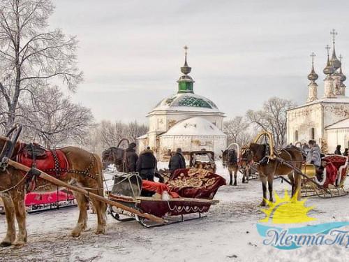Тур из Вологды в новогодние каникулы «Купола и звёзды: Рождество»