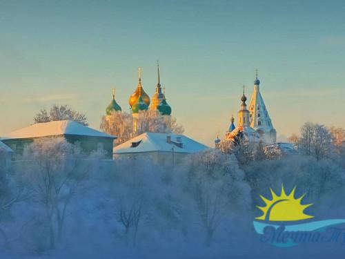 Тур из Вологды в новогодние каникулы «Рождество в Подмосковье: усадьбы + пастила»