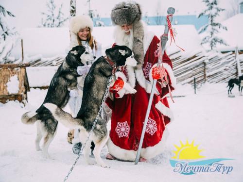 Тур из Вологды в новогодние каникулы «Карелия: Новый год у Талвиукко»