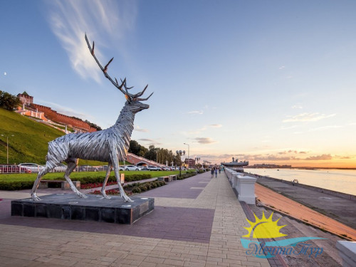 Автобусный тур из Вологды «От Волги до Оки:  Казань - Нижний Новгород»