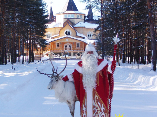 Праздничное путешествие на День рождения Дедушки Мороза (на автобусе, 1 день)