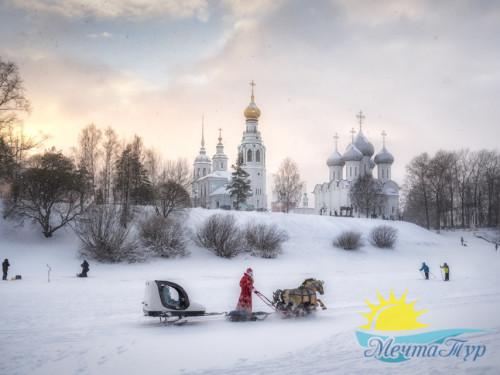 Индивидуальная обзорная пешеходная экскурсия по зимней Вологде  с посещением Музея кружева
