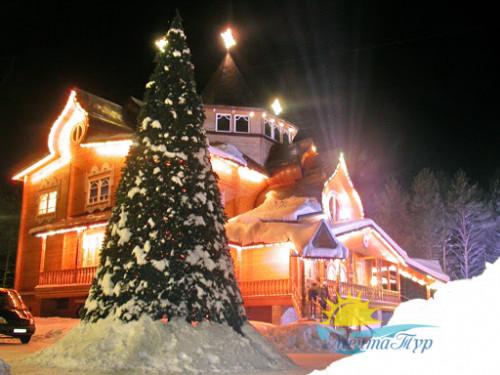 Автобусный тур из Вологды «Новогодние каникулы у Деда Мороза»